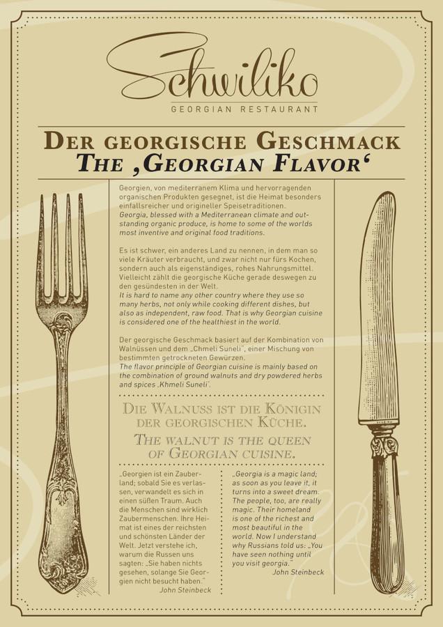 schwiliko berlin - georgisches restaurant - Georgische Küche Berlin